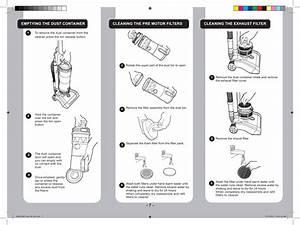 Hoover Jazz Upright Vacuum Cleaner Ja1600 Instruction Manual Product Code 39100283