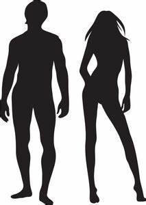 Man And Woman Silhouette Clipart - Clipart Suggest