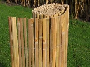 Sichtschutz 100 Cm Hoch : bambusmatte 100 x 500 gespalten natur pro kastanie shop ~ Bigdaddyawards.com Haus und Dekorationen