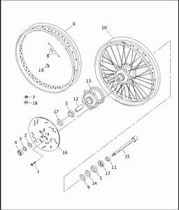 Harley Rear Wheel Assembly Diagram