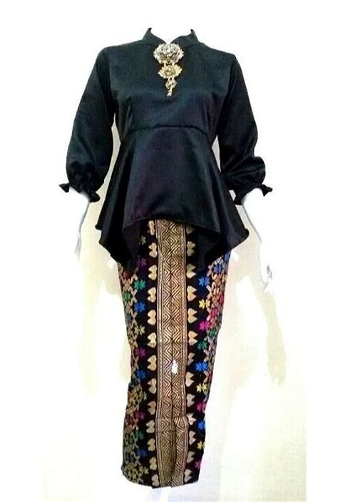 model baju batik 2017 wanita modern dress blus gamis html chevron blouse