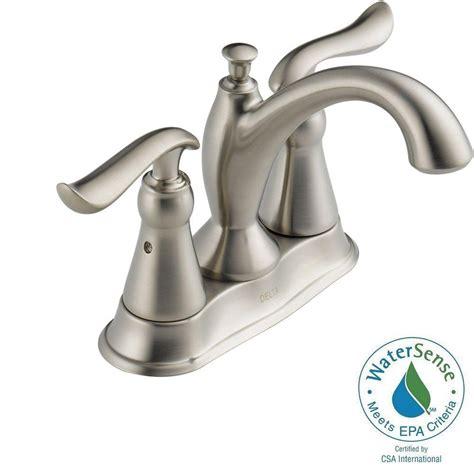 delta foundations 4 in centerset 2 handle bathroom faucet