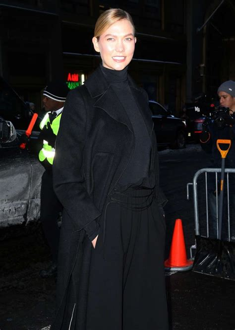 Karlie Kloss Attending The Calvin Klein Show