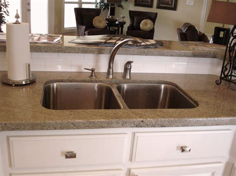 granite countertop with sink color 666633 design collection sociedadred org