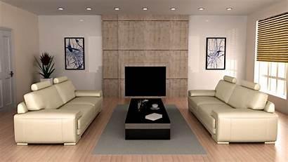 Interior Living Modern Furniture Window Wall Wood