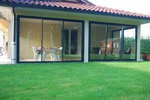 Fermer Une Terrasse Couverte : fermeture de terrasse sur mesure en aluminium dans l 39 ain ~ Melissatoandfro.com Idées de Décoration