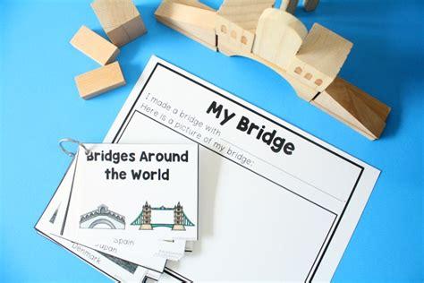 preschool printables fantastic amp learning 725   Bridge Building STEM Activity for Preschool Block Center