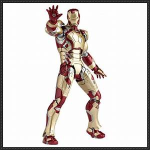 Iron Man - Mark 42 Suit Free Papercraft Download