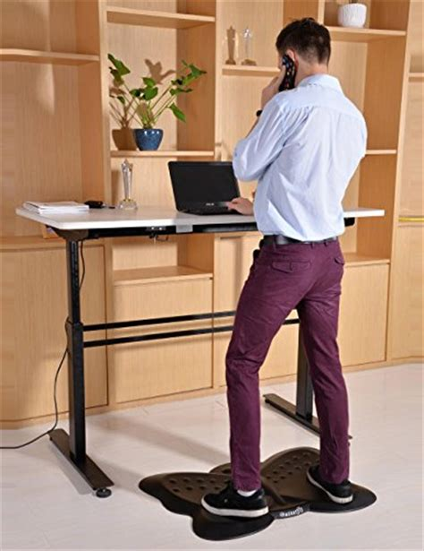 butterfly ergonomic non flat anti fatigue standing desk mat black ebay
