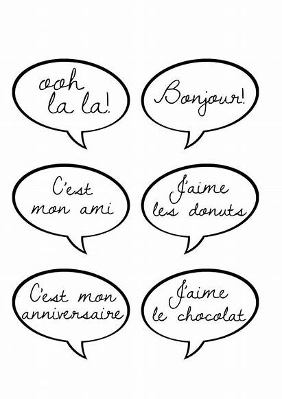 Booth Paris Printable Speech Party French Printables