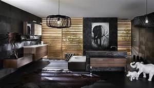 Salle De Bain Exotique : salle de bain exotique photo 14 25 une ambiance r solument africaine dans cette ~ Teatrodelosmanantiales.com Idées de Décoration