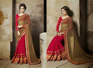 traditional indian wedding traditional indian designer wedding sarees ooooch