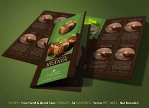 Brochure Layout Samples Best Tea Brochure For Tea Store Modern Design On Behance