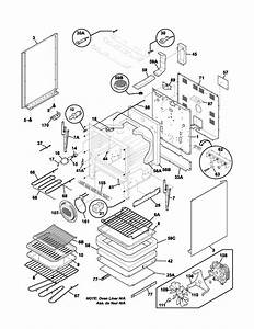 Body Diagram  U0026 Parts List For Model Plef398ccb Frigidaire