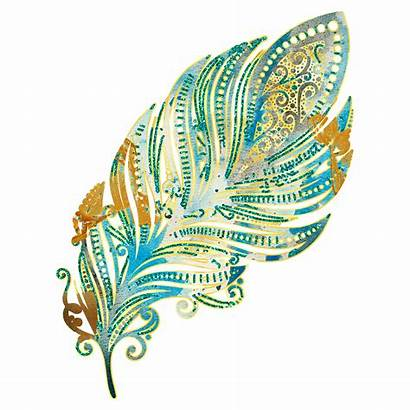 Clipart Mermaid Glitter Transparent Peacock Feathers Clip