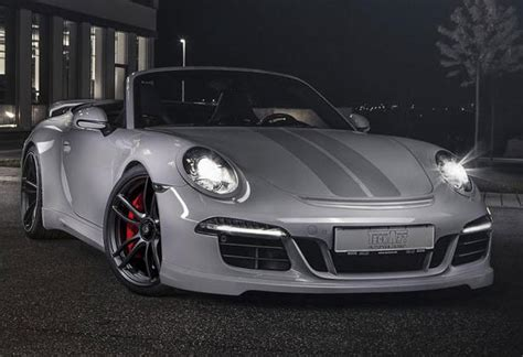porsche  gts body kit  interior upgrades  techart