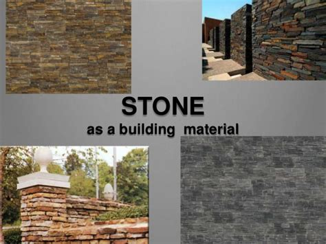 as a building material