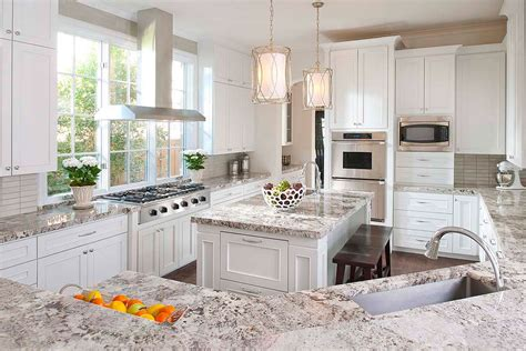 exciting white granite kitchen countertops ideas