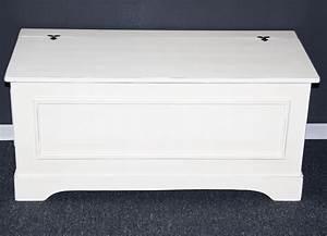 Sitztruhe Weiß Holz : sitztruhe truhe w schetruhe 84 cm truhen dielen flur bank massiv holz wei antik ebay ~ Markanthonyermac.com Haus und Dekorationen