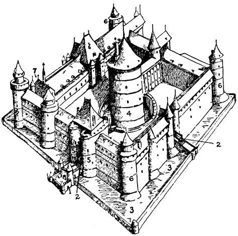 castle parts clipart etc