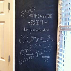 our kitchen chalkboard wall em for marvelous With kitchen colors with white cabinets with bible verses wall art