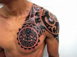 The Cpuchipz Tattoo Ideas: tribal chest tattoos legend photos