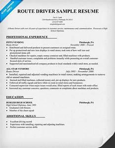 Route Driver Resume Sample Resumecompanion Com Resume