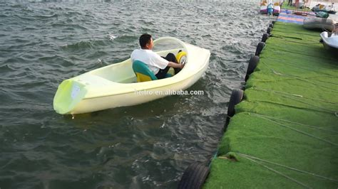 Fishing Paddle Boat by Fishing Plastic Boat Pedal Boat Buy Fishing Plastic Boat