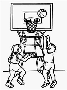 Basketball Player Coloring Pages Realistic Coloring Pages