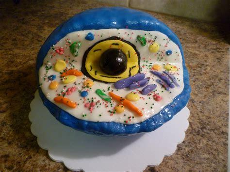 crazy  cakes  edible animal cell model