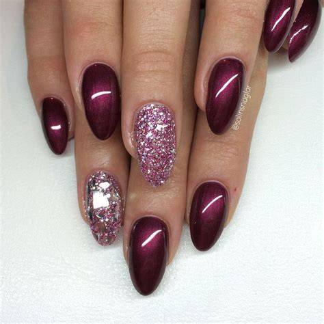 black cherry berry silver mixed glitter silver mylar