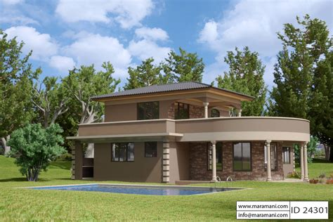 contemporary  bedroom house plan id  building
