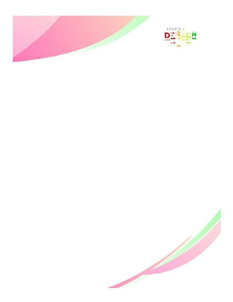 letterhead templates examples  template