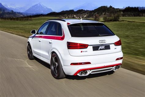 Audi Q3 Modification by Modified Cars White Audi Rs Q3 Customized