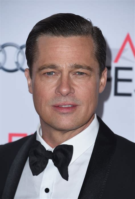 Brad Pitt | 59 Hot Guys Wearing Bow Ties | POPSUGAR ...
