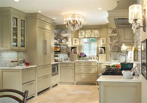 shabby chic kitchen lighting expert talk 10 reasons to hang a chandelier in the kitchen 5149