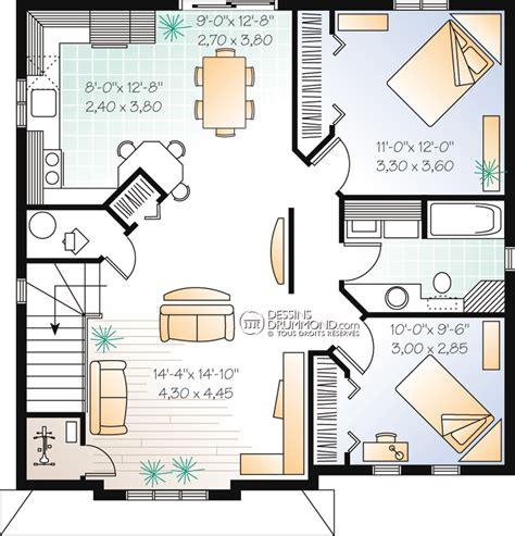 modele cuisine ouverte duplex triplex w2096 maison laprise maisons pré usinées