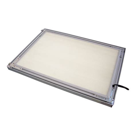 led light box a2 23 4 quot x 16 5 quot corner led slim light box without printing sign in global