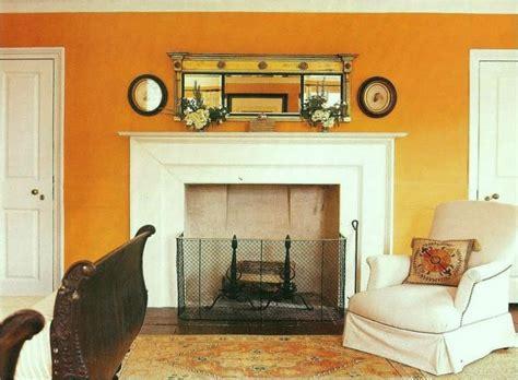 fabulous shades  orange paint  furnishings