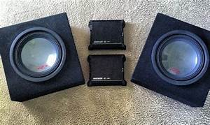 For Sale   2  Alpine Type R 12 U0026quot  Subwoofers And  2  Kicker