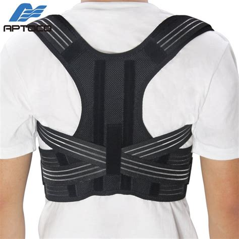 APTOCO Adjustable Posture Corrector Back Support Shoulder ...