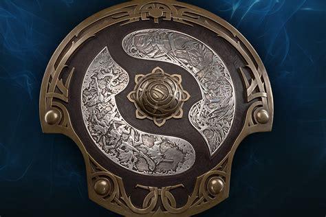 weta workshop   dota  championship shield