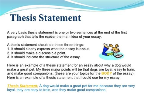 another part to an effective essay ppt essay writing power point 1
