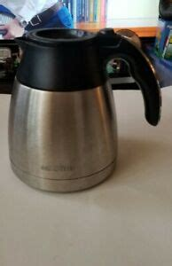 This is an attempt at making a dripper with replacement for percolator coffee machine this part of the machine prevent the coffee from. Mr. Coffee BVMC-PSTX91 Optimal Brew Thermal Stainless Steel Carafe With Lid | eBay