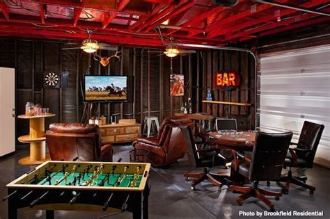How To Create A Man Cave Garage  Garage Man Cave Ideas