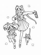 Sailormoon sketch template