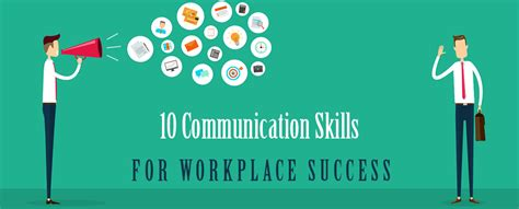 10 Communication Skills for Workplace Success - YK