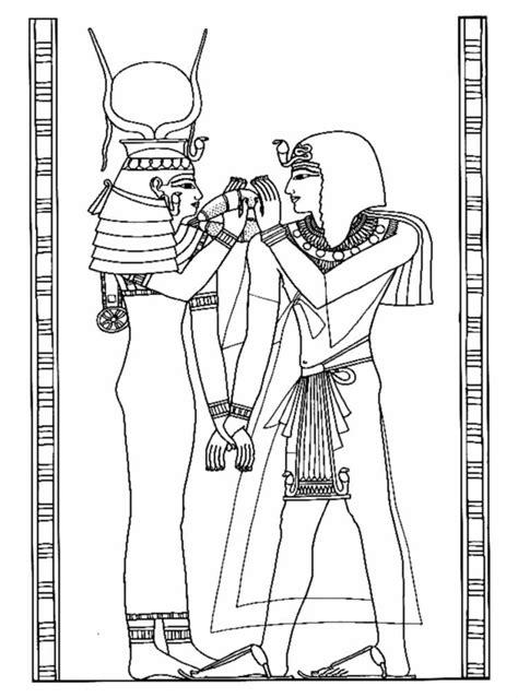 coloriage egypte  imprimer pour les enfants cp