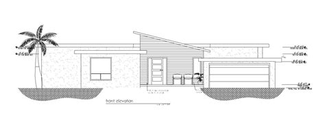 custom florida house plans mid century house mangrove