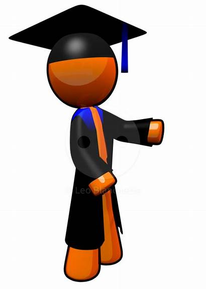 Clip College Student Clipart Graduation Graduate Scholar